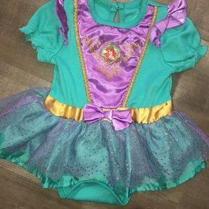 Little mermaid skirted Bodysuit/ costume